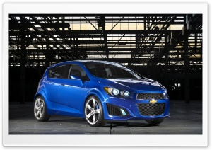 2011 Chevrolet Aveo RS   Front Angle View HD Wide Wallpaper for Widescreen