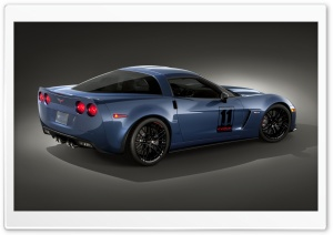 2011 Chevrolet Corvette Z06 Carbon Limited Edition   Side View HD Wide Wallpaper for Widescreen