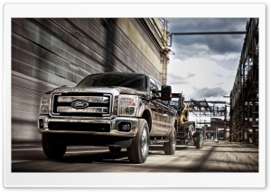 2011 Ford F Series Super Duty HD Wide Wallpaper for 4K UHD Widescreen desktop & smartphone