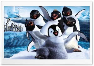 2011 Happy Feet 2 HD Wide Wallpaper for Widescreen