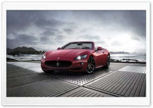 2011 Maserati GranCabrio Sport HD Wide Wallpaper for Widescreen