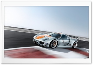 2011 Porsche 918 RSR HD Wide Wallpaper for Widescreen