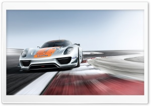 2011 Porsche 918 RSR Concept HD Wide Wallpaper for Widescreen