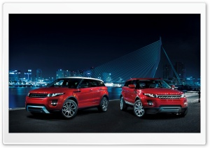 2011 Range Rover Evoque HD Wide Wallpaper for Widescreen
