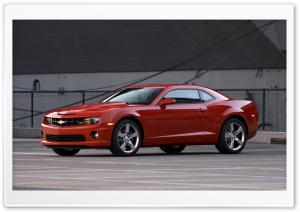 2011 Red Chevrolet Camaro SS HD Wide Wallpaper for Widescreen