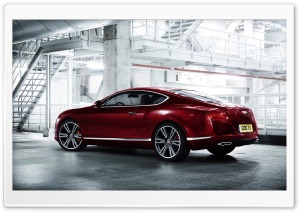2012 Bentley Continental V8 HD Wide Wallpaper for Widescreen