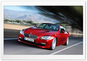 2012 BMW 6 Series Coupe HD Wide Wallpaper for Widescreen