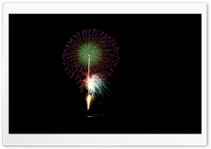 2012 Fireworks HD Wide Wallpaper for Widescreen
