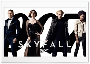 2012 James Bond Movie Skyfall Ultra HD Wallpaper for 4K UHD Widescreen desktop, tablet & smartphone