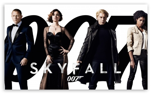 2012 James Bond Movie Skyfall HD wallpaper for Wide 5:3 Widescreen WGA ; HD 16:9 High Definition WQHD QWXGA 1080p 900p 720p QHD nHD ; Mobile 5:3 16:9 - WGA WQHD QWXGA 1080p 900p 720p QHD nHD ;