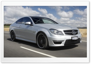 2012 Mercedes Benz C63 AMG Car Ultra HD Wallpaper for 4K UHD Widescreen desktop, tablet & smartphone