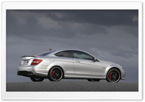 2012 Mercedes Benz C63 Amg Car HD Wide Wallpaper for 4K UHD Widescreen desktop & smartphone