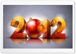 2012 New Year HD Wide Wallpaper for Widescreen