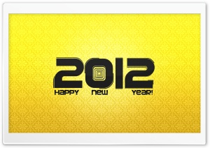 2012 New Year HD Wide Wallpaper for 4K UHD Widescreen desktop & smartphone