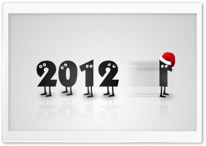 2012 New Year Holiday HD Wide Wallpaper for 4K UHD Widescreen desktop & smartphone