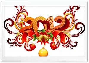 2012 New Year's Day HD Wide Wallpaper for Widescreen