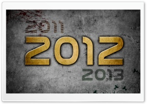 2012 Past-Future HD Wide Wallpaper for Widescreen