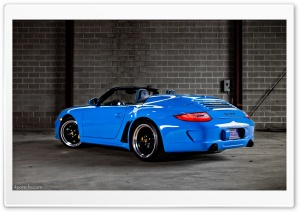 2012 Porsche 911 (997) Speedster HD Wide Wallpaper for Widescreen