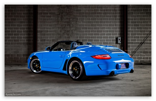 2012 Porsche 911 997 Speedster 4k Hd Desktop Wallpaper