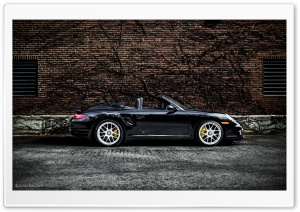 2012 Porsche 911 997 Turbo S Cabriolet HD Wide Wallpaper for 4K UHD Widescreen desktop & smartphone