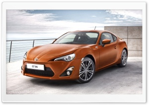 2012 Toyota GT 86 Car HD Wide Wallpaper for 4K UHD Widescreen desktop & smartphone