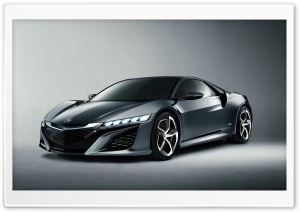 2013 Acura NSX Concept HD Wide Wallpaper for Widescreen