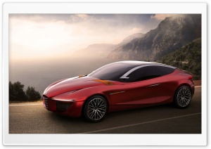 2013 Alfa Romeo Concept HD Wide Wallpaper for Widescreen