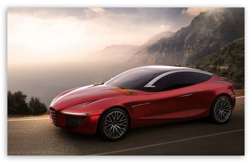 Download 2013 Alfa Romeo Concept UltraHD Wallpaper