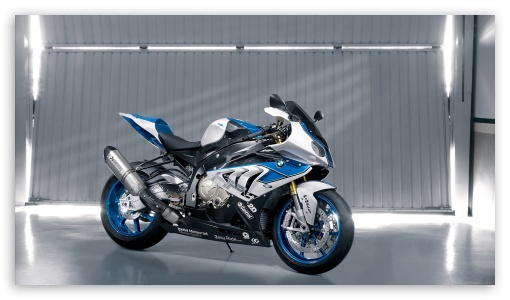 Download 2013 BMW HP4 Bike HD Wallpaper