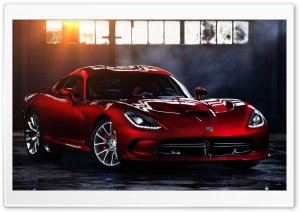 2013 Dodge SRT Viper Ultra HD Wallpaper for 4K UHD Widescreen desktop, tablet & smartphone