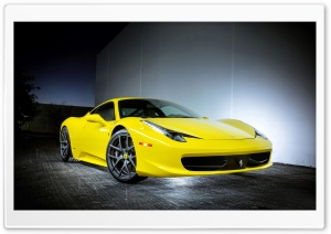 2013 Ferrari 458 Italia Vorsteiner HD Wide Wallpaper for 4K UHD Widescreen desktop & smartphone