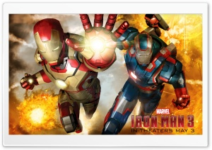 2013 Iron Man 3 Movie HD HD Wide Wallpaper for Widescreen