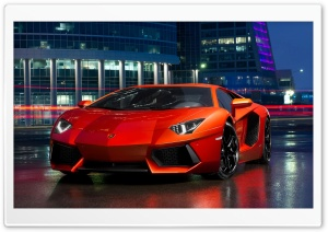 2013 Lamborghini Aventador HD Wide Wallpaper for Widescreen