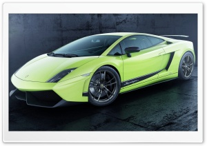 2013 Lamborghini Gallardo LP 570-4 Superleggera HD Wide Wallpaper for Widescreen