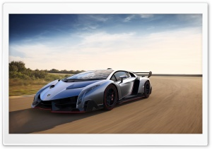 2013 Lamborghini Veneno HD Wide Wallpaper for Widescreen