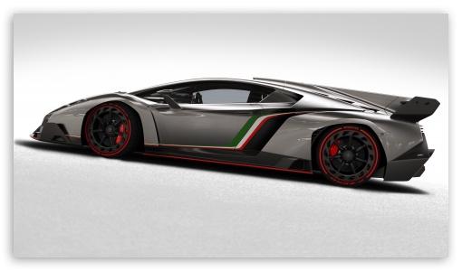 2013 Lamborghini Veneno Side View HD wallpaper for HD 16:9 High Definition WQHD QWXGA 1080p 900p 720p QHD nHD ; Mobile 16:9 - WQHD QWXGA 1080p 900p 720p QHD nHD ; Dual 16:10 5:3 4:3 5:4 WHXGA WQXGA WUXGA WXGA WGA UXGA XGA SVGA QSXGA SXGA ;