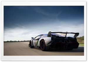 2013 Lamborghini Veneno Speed HD Wide Wallpaper for Widescreen