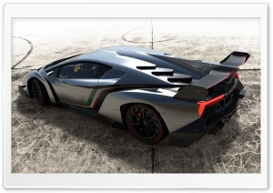 2013 Lamborghini Veneno Top View HD Wide Wallpaper for Widescreen