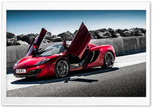 2013 McLaren MP4 12C Spider HD Wide Wallpaper for Widescreen