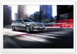 2013 Mercedes Benz C Class HD Wide Wallpaper for Widescreen