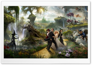 2013 Oz the Great and Powerful Movie HD Wide Wallpaper for Widescreen
