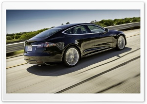 2013 Tesla Model S Car HD Wide Wallpaper for 4K UHD Widescreen desktop & smartphone