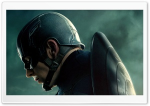 2014 Captain America Movie HD Wide Wallpaper for Widescreen
