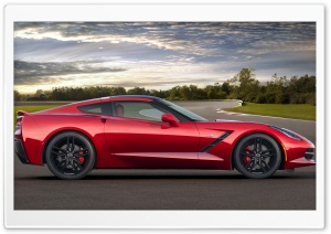 2014 Chevrolet Corvette Stingray HD Wide Wallpaper for 4K UHD Widescreen desktop & smartphone