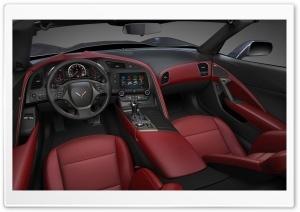 2014 Chevrolet Corvette Stingray Interior HD Wide Wallpaper for 4K UHD Widescreen desktop & smartphone