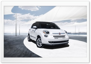 2014 Fiat 500L HD Wide Wallpaper for Widescreen