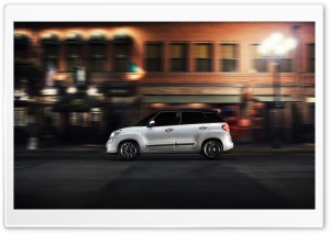 2014 Fiat 500L Car HD Wide Wallpaper for Widescreen