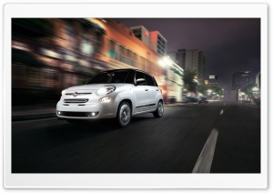 2014 Fiat 500L City HD Wide Wallpaper for Widescreen