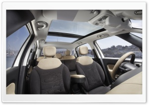 2014 Fiat 500L Interior HD Wide Wallpaper for Widescreen