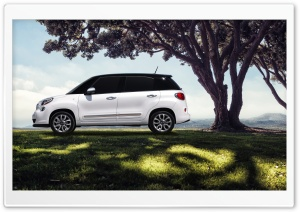 2014 Fiat 500L Nature HD Wide Wallpaper for Widescreen